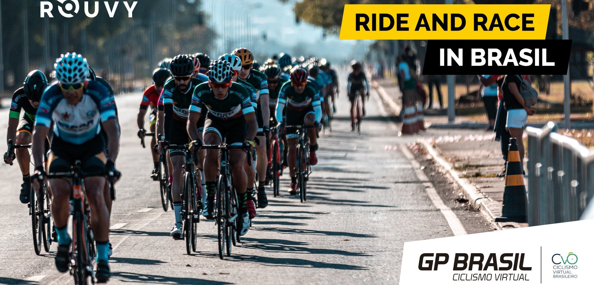 Tour of Brasilia hosts an open Virtual Cycling Week with the Brazilian champions on ROUVY