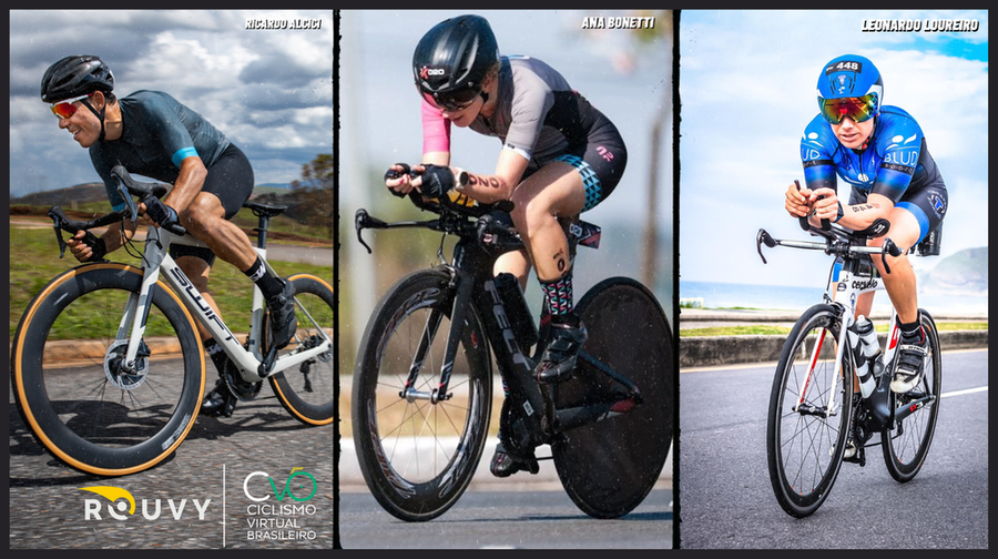 BRAZILIAN VIRTUAL CYCLING and ROUVY announce the line-up of Brazilian ambassadors and further plans in the region