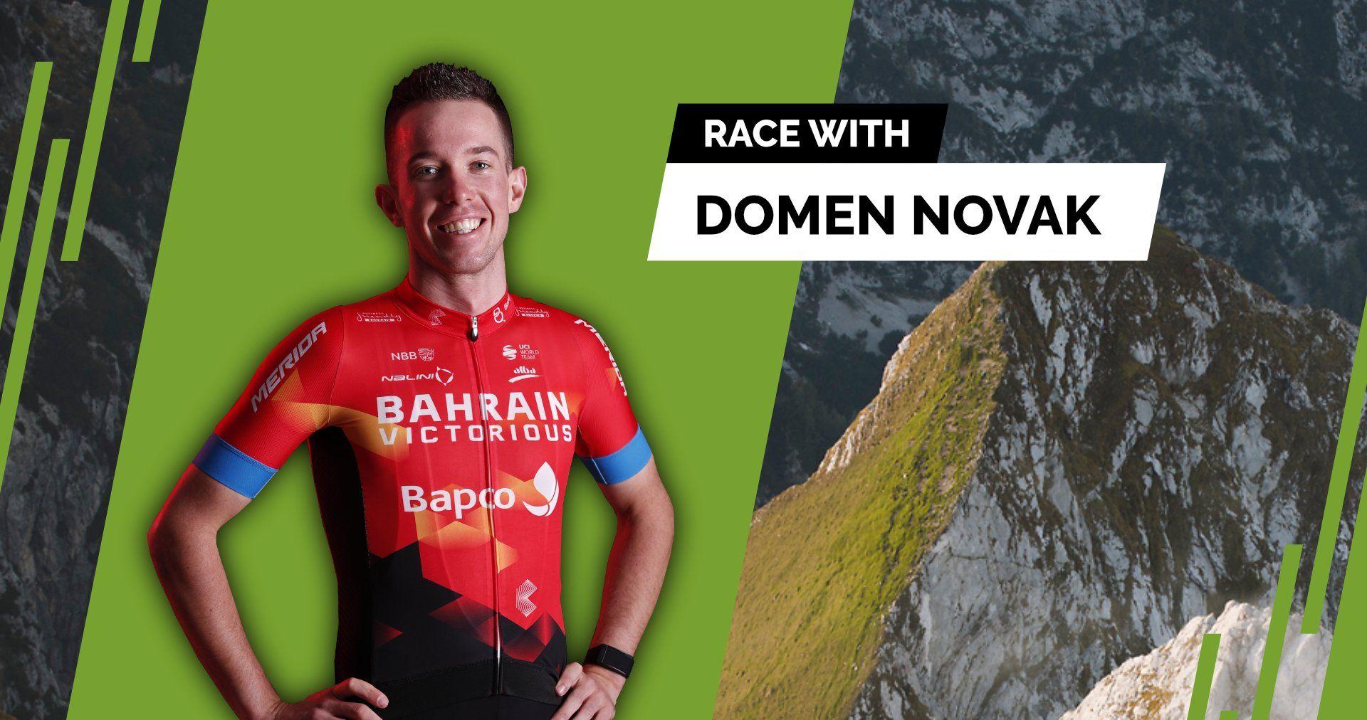 """I feel Slovenia"" - Virtual Tour of Slovenia | Stage 3 with Domen Novak and Aljaž Turk"