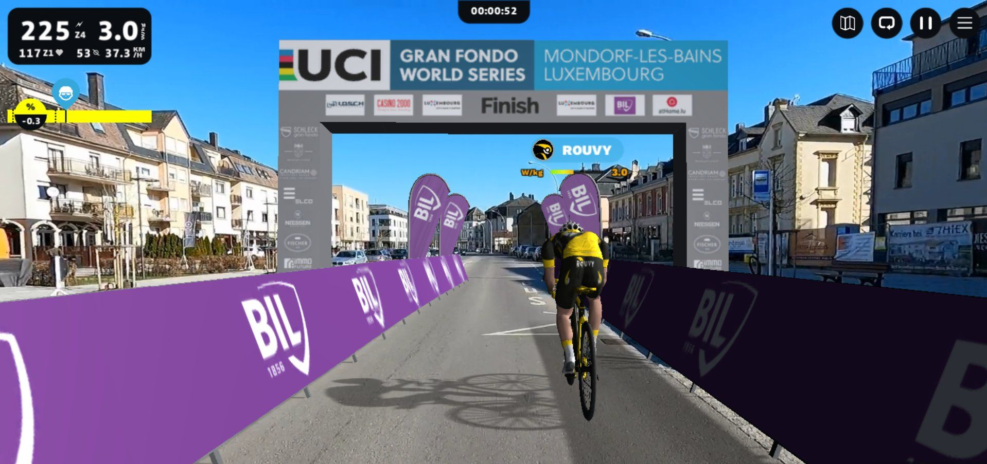 Schleck Gran Fondo releases a Virtual Extension of its race on ROUVY