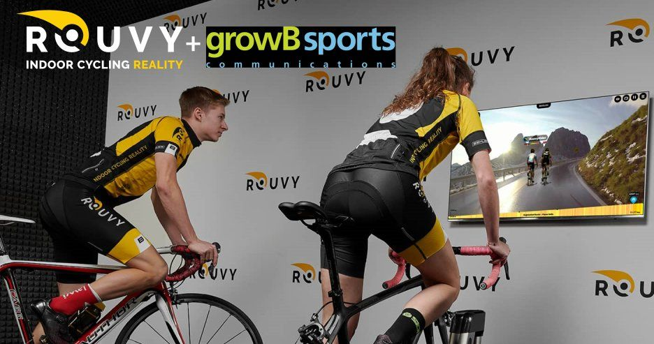 """Virtual Sports Platform """"ROUVY"""" partners with 'growB Sports' to grow its presence and boost its activities in Japan"""