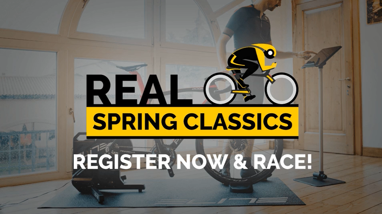ROUVY Announces the Virtual 'Real Spring Classics' series presented by ELITE Cycling and Santini