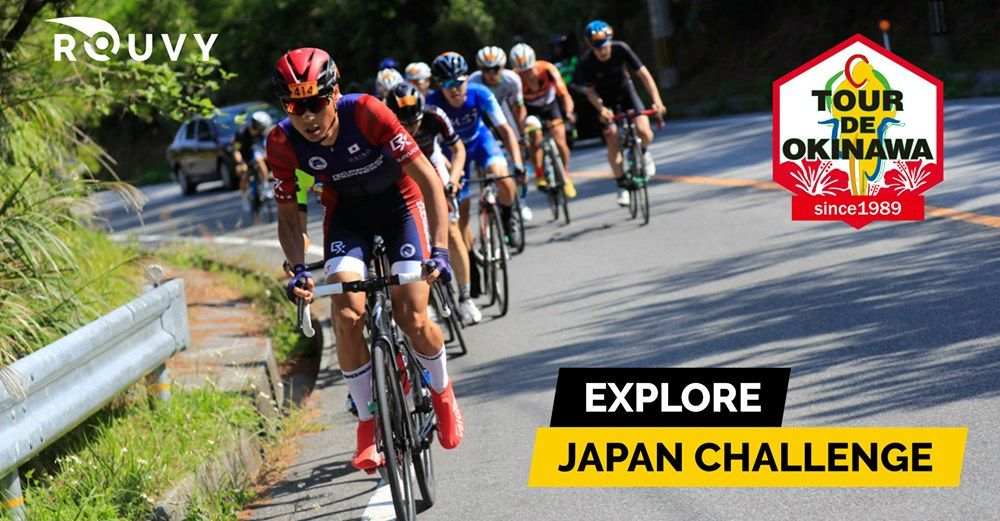 """The """"Tour de Okinawa"""" extends virtually with ROUVY, enabling cyclists to race on the roads of the Tour from their homes"""