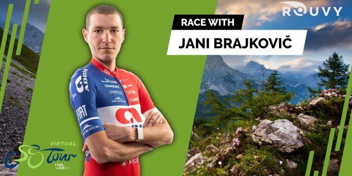 """I feel Slovenia"" - Virtual Tour of Slovenia | Stage 2 with Jani Brajkovič and Adam Jordan"