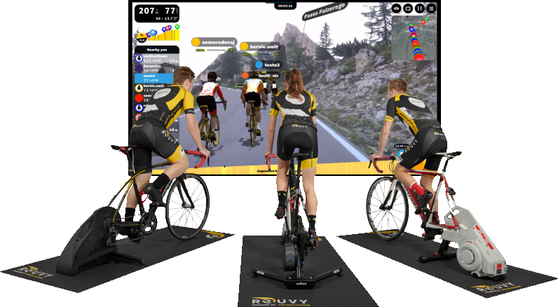 monitor - bike - trainer